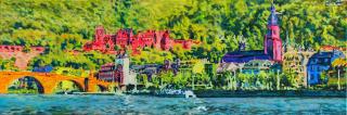 Heidelberg Schloß, Brücke und Altstadt