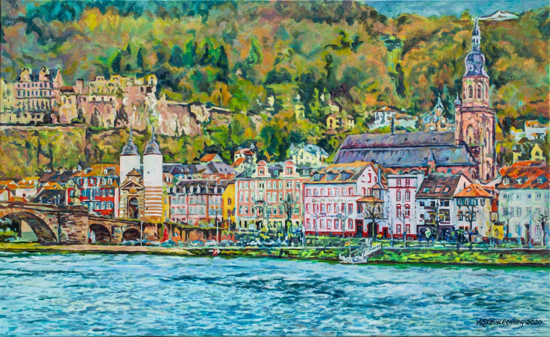 Heidelberg Neckarstaden und Altstadt